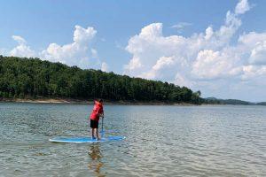 Paddle Board on Broken Bow Lake-Lets Go Broken Bow