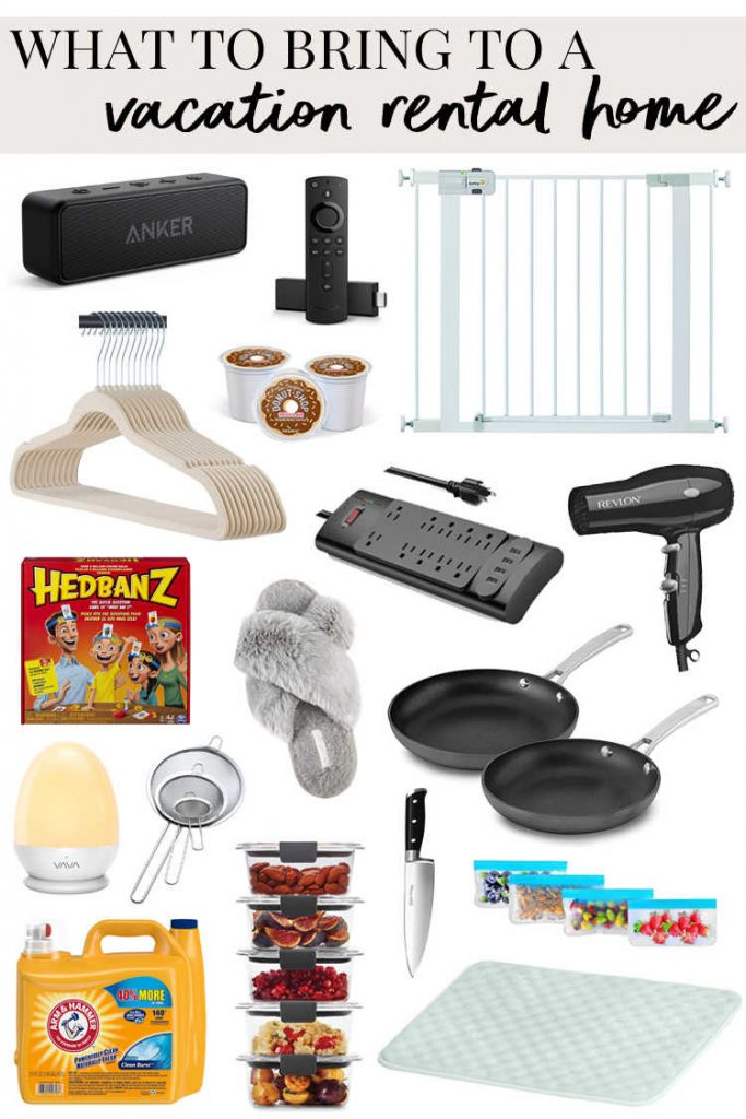 What to Bring to a Vacation Rental Home-Kids Are A Trip