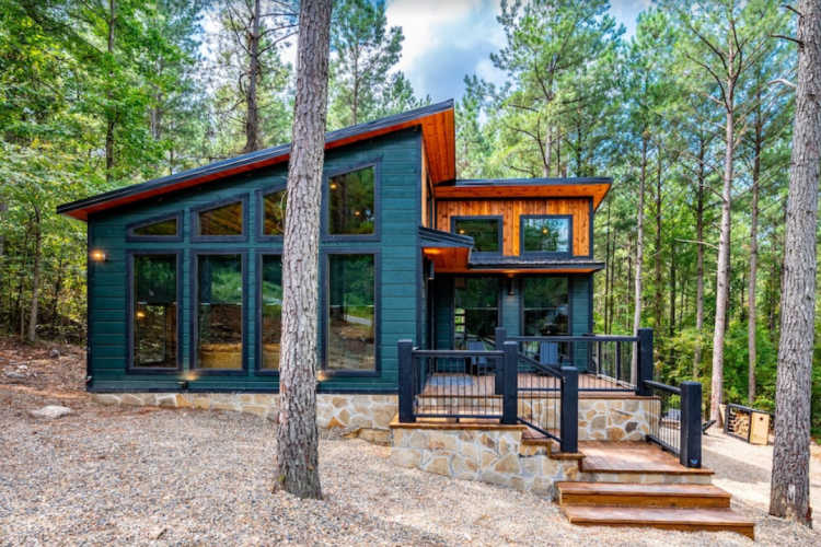 Relaxation Redefined Midmodern Cabin Broken Bow